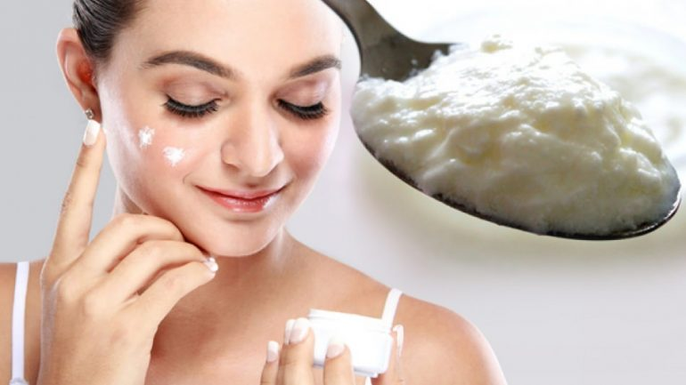 What does yogurt and baking soda mask do? How to make a yogurt and baking soda mask?