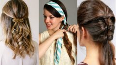 2020 Which are the easiest hairstyles? Easy hair bonding at home