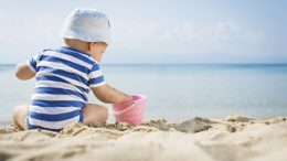 Are sunscreen applied to babies?