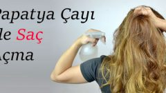 Hair Opening Method with Chamomile Tea at Home