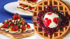 How many calories does the waffle gain weight? How to make easy and delicious waffles at home?