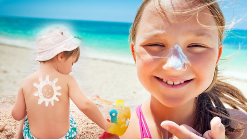 How to choose sunscreen cream? Sunstroke and precautions in children