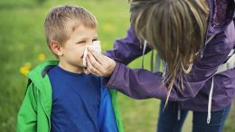 Is your child's disease allergic or flu?