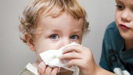 Nasal congestion in children can lead to developmental problems