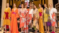 Silvia Tcherassi introduced her new collection with an invitation at Vakko