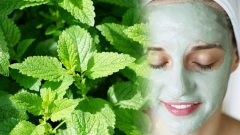 What are the benefits of peppermint to the skin? How is mint applied to the skin? Skin-renewing mint mask