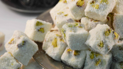 What are the benefits of Turkish Delight? If you eat four coconut marshmallows a day. . .
