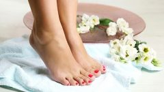 What is good for cracked feet, do not forget to brush!