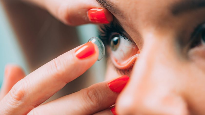 What should be considered when using contact lenses 'There is no monthly lens!'