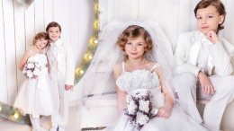What to wear at the wedding? Children's wedding dress models and suggestions